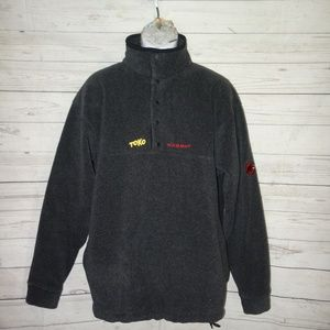 Mammut Jackets & Coats - Mammut Snap-T Fleece Jacket Men L TOKO Embroidered